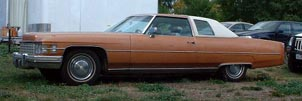 1974 Cadillac Coupe DeVille 01